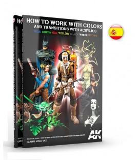 AK294 Como trabajar los colores y las transiciones con acrilicos - Español