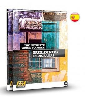 AK257 Como hacer edificios en dioramas Learning Series 09 - Castellano