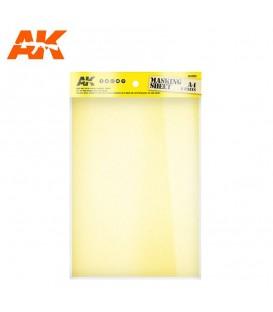 AK8210 2 sheets A4 Masking Tape