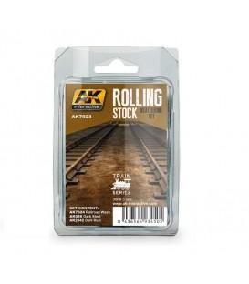 AK7023 Rolling Stock Weathering Set 3 u. 35 ml
