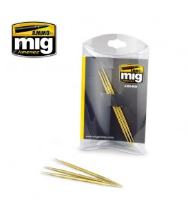 A.MIG-8026 Set de 3 varas de latao