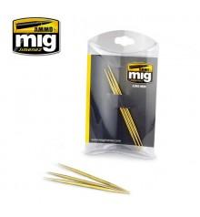 A.MIG-8026 Set de 3 escuradents de llauto