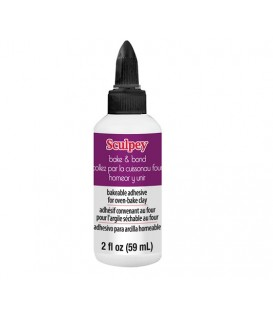 ABB02 Bake and bond bakeable adhesive for clay Sculpey 59 ml..