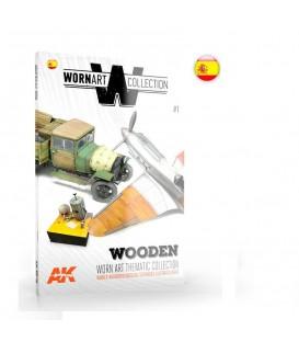 AK4902 Worn Art Collection 01-Wooden - Castellano