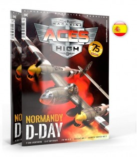 AK2934 Aces High Issue 16 Normandia Dia-D - Castellano