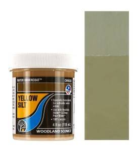 Yellow Silt CW4535 Water Undercoat 118 ml. Water System by Woodland Scenics