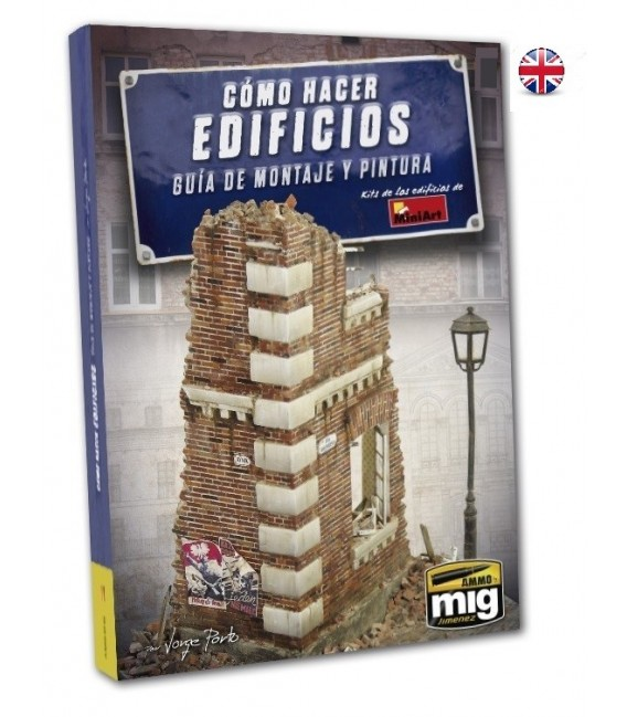 """English Book """"How to make buildings. Basic Construction and Painting Guide"""""""