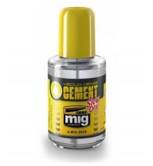 Adhesiu Medium Dense Cement Slow Dry AMMO MIG-2038 30 ml.