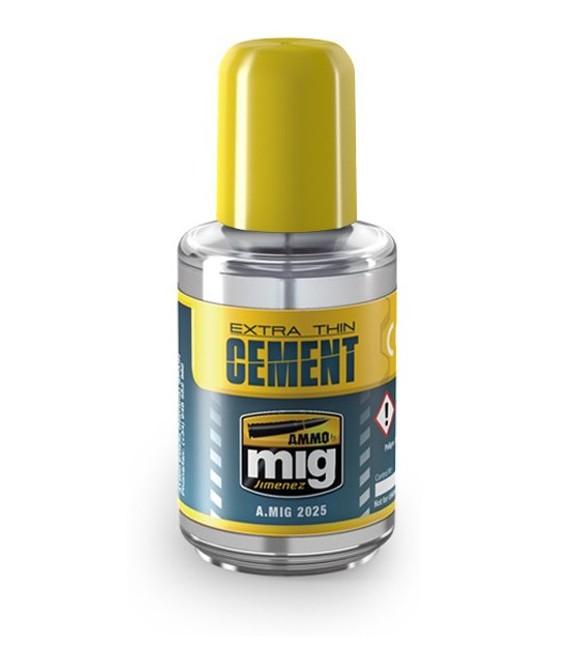 Extra Thin Cement AMMO MIG-2025 30 ml.