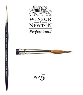 Winsor & Newton Series Professional Artist Sable Brush 5