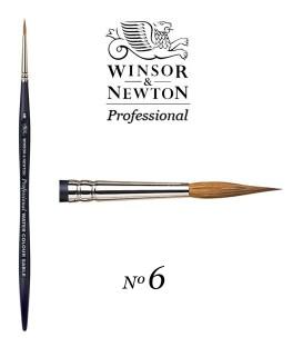 Winsor & Newton Series Professional Artist Sable Brush 6