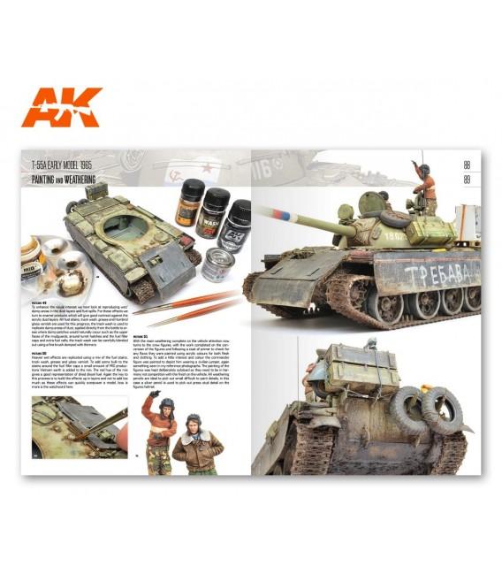 AK915 Modeling T54 – T55 MiniArt - Castellano