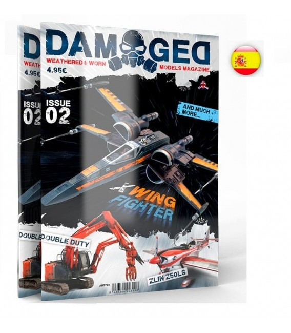 ABT704 Damaged Magazine Issue 02 - Español