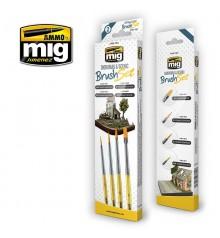 A.MIG-7601 Dioramas & Scenic Brush Set