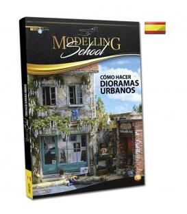 """Libro Castellano """"Modelling School: Como hacer Dioramas Urbanos"""""""