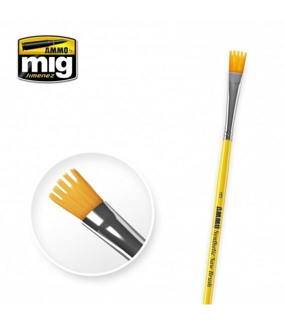 A.MIG-8585 Pincel Sintetico SAW Brush 8