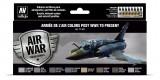 71627 Set Vallejo Model Air 8 u. (17 ml.) Armee de l'Air colors post WWII to present
