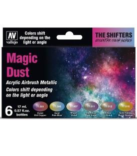 Set Vallejo The Shifters 6 u. (17 ml.) Magic Dust