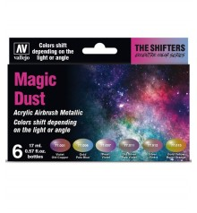 Set Vallejo The Shifters 6 u. (17 ml.) Magic Dust
