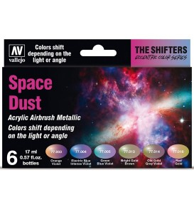 Set Vallejo The Shifters 6 u. (17 ml.) Space Dust