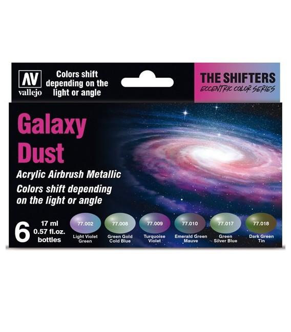 Set Vallejo The Shifters 6 u. (17 ml.) Galaxy Dust