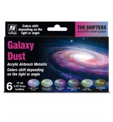 Set Vallejo The Shifters 6 u. (17 ml.) Galaxy Dust