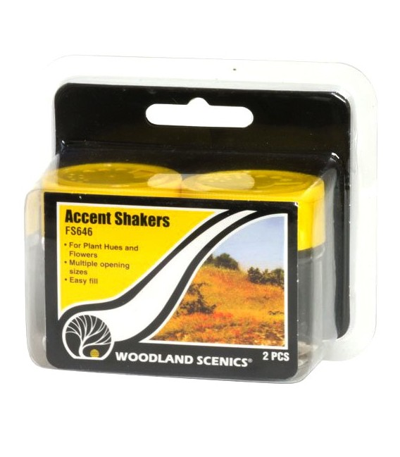 Accent Shakers FS646 Woodland Scenics.
