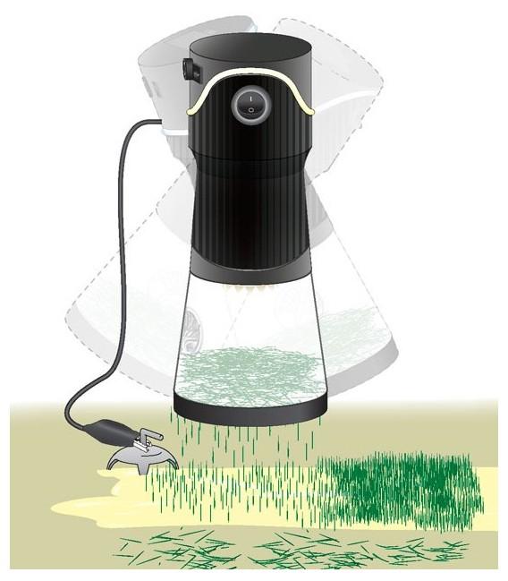 Static King FS639 Electrostatic Grass Applicator Woodland Scenics