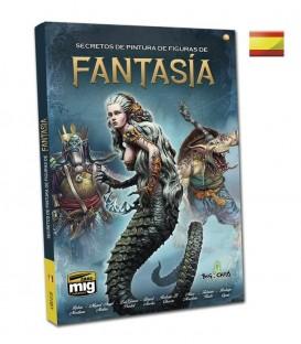 "Libro Castellano ""Secretos de pintura de figuras de fantasia"""