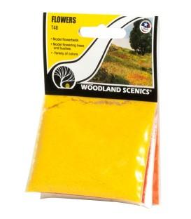 Fleurs en 4 couleurs T48 Woodland Scenics.
