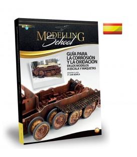 """Libro Castellano """"Modelling School - Como hacer barro en tus maquetas"""""""