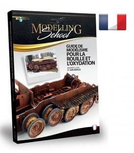 """Livro Frances """"Modelling School - Guide pour la Rouille et l'Oxydation"""""""