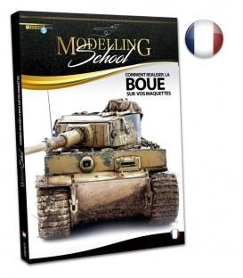 """French book """"Modelling School - Comment realiser la boue sur vos maquettes"""""""