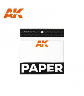 AK8074 Paper - 40 u. Wet Palette Paper Replacement