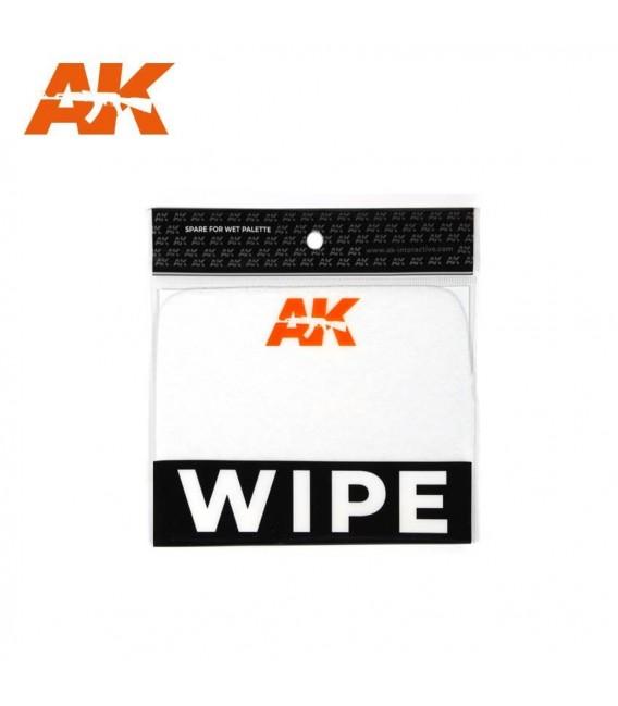 AK8075 Recambio Esponja Wet Palette - Paleta Humeda