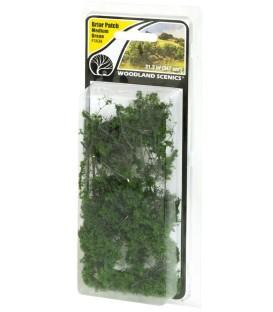 Briar Patch Medium Green - Arbust Verd Mig - FS638 Woodland Scenics.