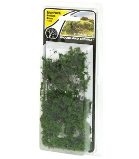 Briar Patch Medium Green - Arbuste Vert Moyen - FS638 Woodland Scenics.