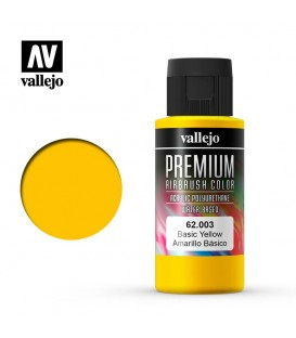 62003 Giallo Base Vallejo Premium Color (60 ml.)