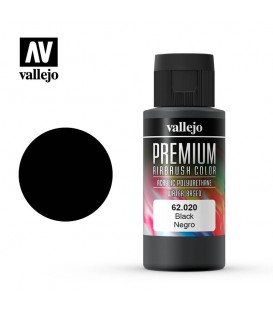 63020 Black Vallejo Premium Color (200 ml.)
