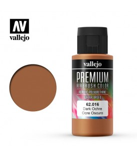 62016 Dark Ochre Vallejo Premium Color (60 ml.)
