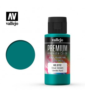 62012 Verde Azul Vallejo Premium Color (60 ml.)