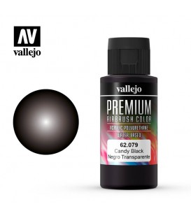 62079 Negre Candy Vallejo Premium Color (60 ml.)