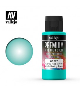 62077 Candy Racing Green Vallejo Premium Color (60 ml.)