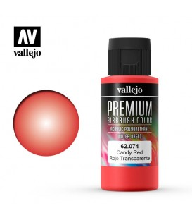 62074 Vermelho Candy Vallejo Premium Color (60 ml.)