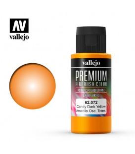 62072 Giallo Scuro Candy Vallejo Premium Color (60 ml.)