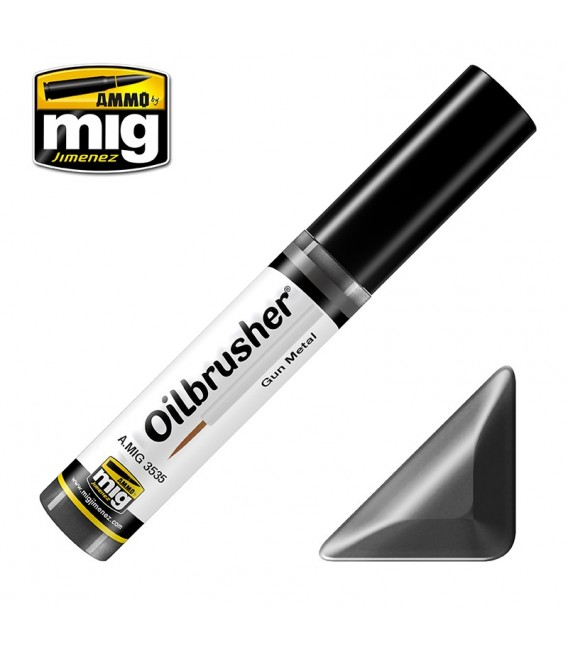 Oleo Oilbrusher Gun Metal