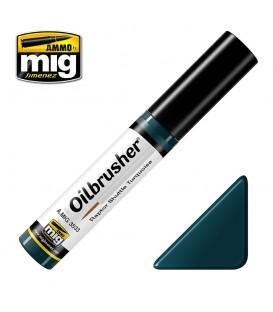 Oilbrusher Oil Ammo Mig Raptor Shuttle Turquoise