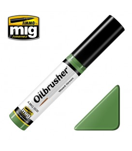 Oilbrusher Oil Ammo Mig Weed Green