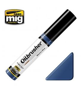 Oilbrusher Oil Ammo Mig Marine Blue