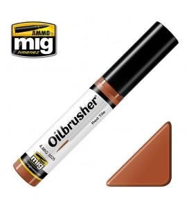Oilbrusher Huile Ammo Mig Red Tile